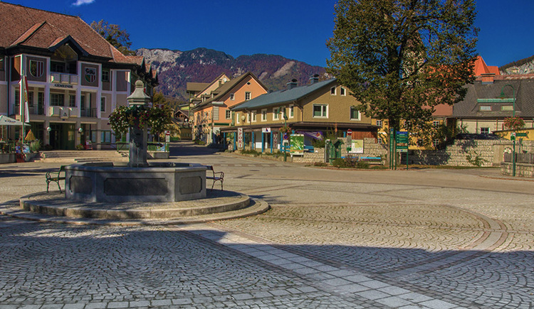 On the picture you see the market square of Bad Goisern