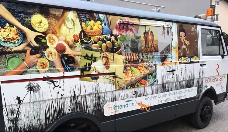 Food Truck Rohringers Feinstes in  Attersee am Attersee (© Andreas Rohringer)