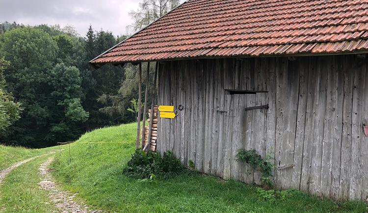 Hut at the Almwiesen-trail. (© TVB Mondsee-Irrsee)