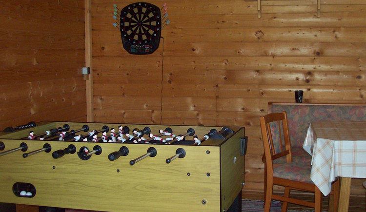 darts and foosball. (© Andräbauer)