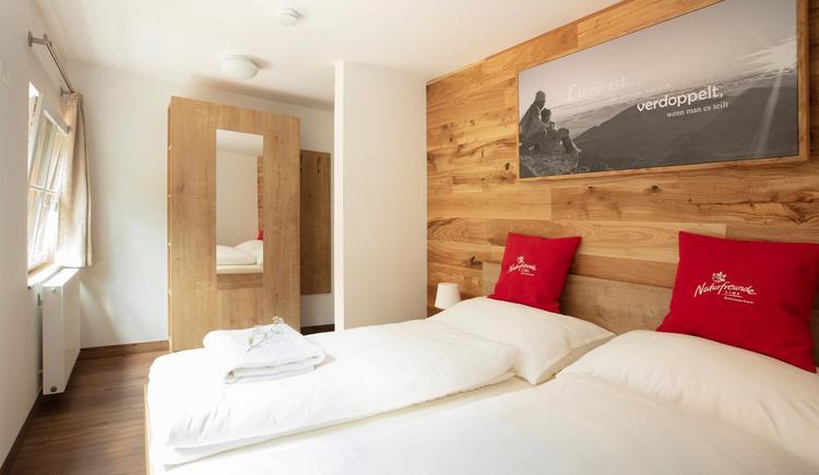 Zweibettzimmer (© Naturfreunde Linz)