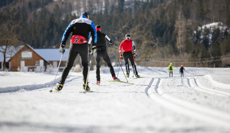 In der Langlauf- & Biathlonarena (© TVB Pyhrn-Priel / Florian Lierzer)