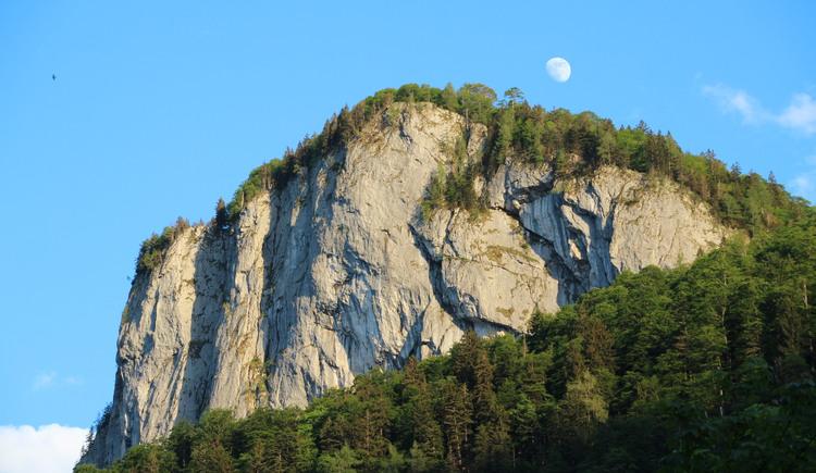 Abendleuchten am Feichtenstein (© fuschlseeregion/hintersee/veronika/trinkl)