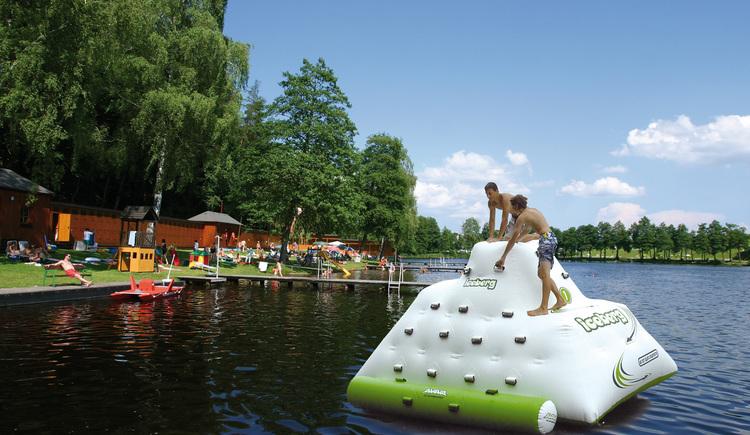 Holzöstersee Strandbad. (© TV-Franking, Schickmayr)