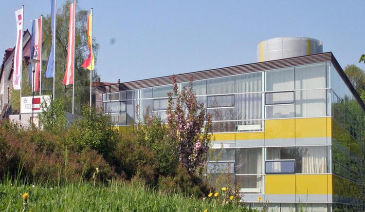 Aufnahme vom Kulturzentrum Lenzing. (© Marktgemeinde Lenzing)