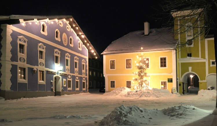 Advent am Ortsplatz (© Lindorfer)