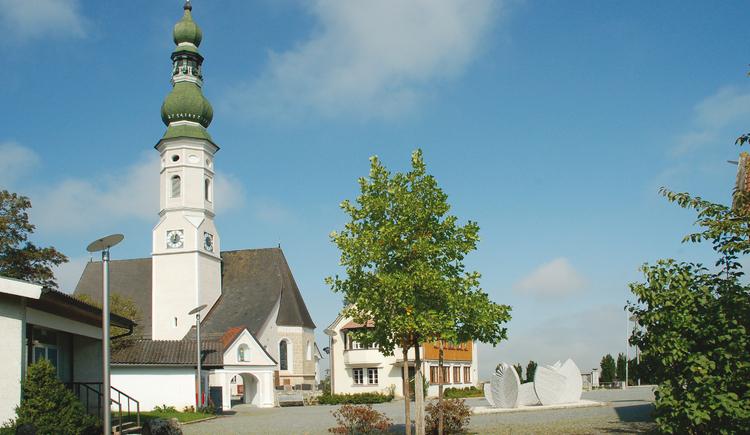 Pfarrkirche St. Michael (© Pfarre Geinberg)