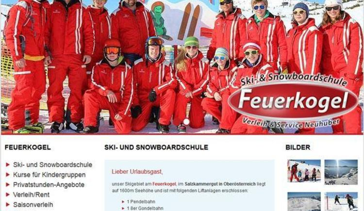 das Team (© Skischule Feuerkogel)