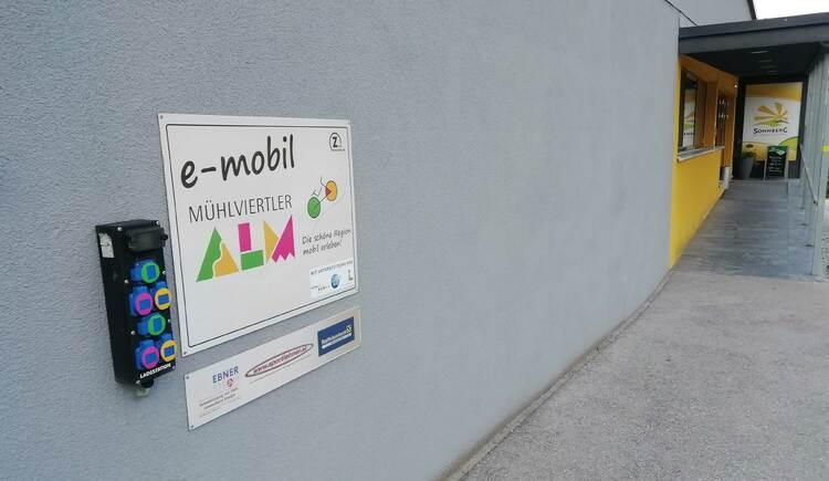 E-Bike-Ladestation-UWB_Sonnberg_WEB (© Tourismusverband Mühlviertler Alm Freistadt)