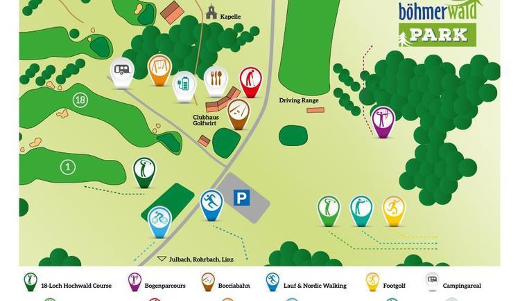 Böhmerwaldpark (© Golfpark Böhmerwald)