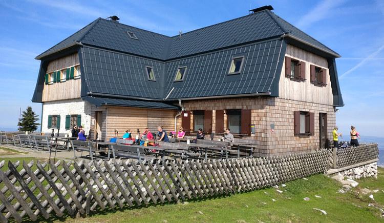 Hochleckenhaus im Höllengebirge (© TVB Attersee-Salzkammergut, Susanne Schlesinger;)