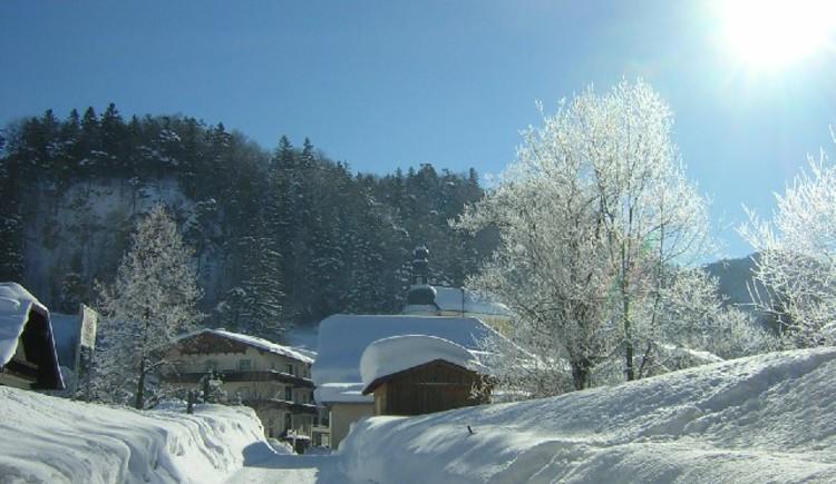 Wintersonne. (© Tourismusverband Ebenau)