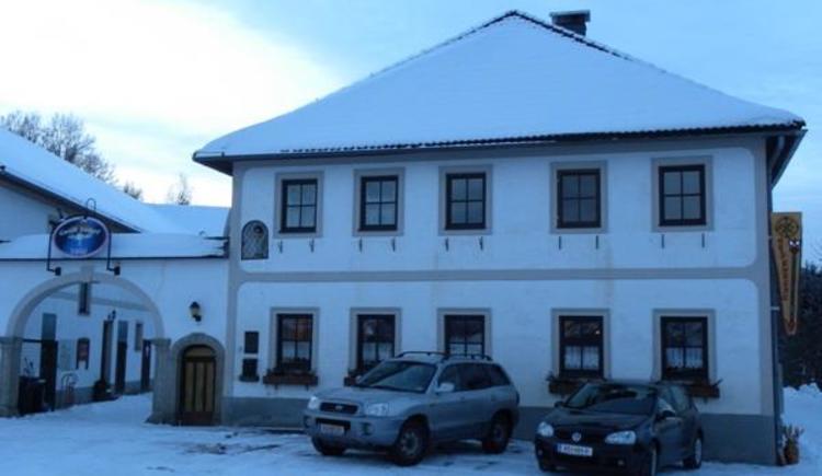 Unser Hof im Winter (© Privat)