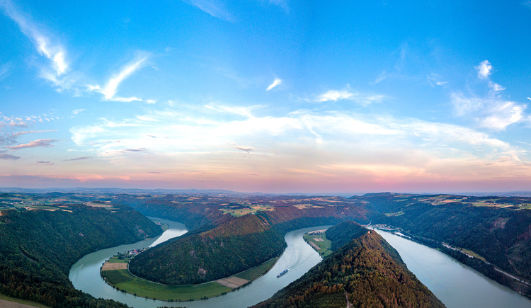Panorama Donauschlinge (© Johannes Kaindlstorfer)