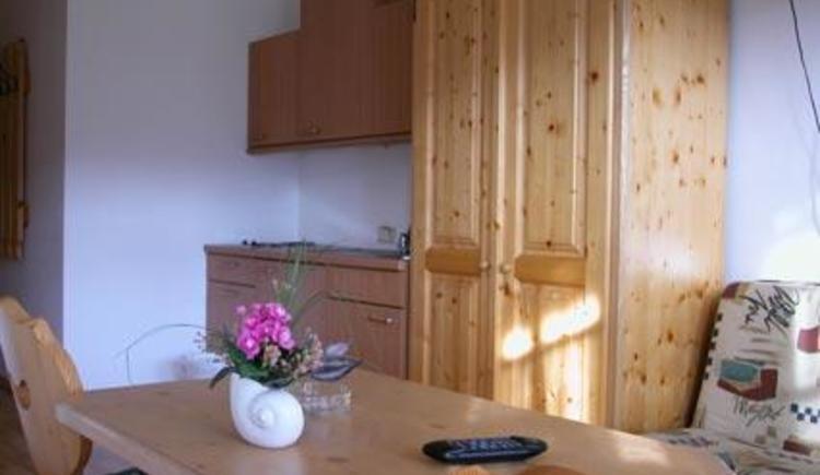 Küche (© Pension Café Sophie)