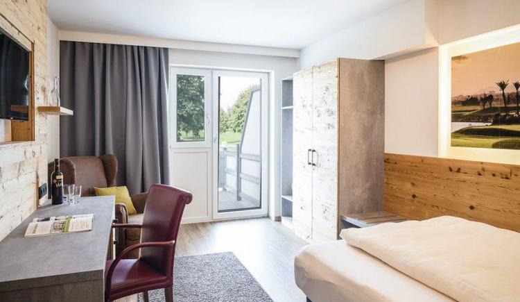 Lodge Einzelzimmer (© Golf Resort Kremstal GmbH)