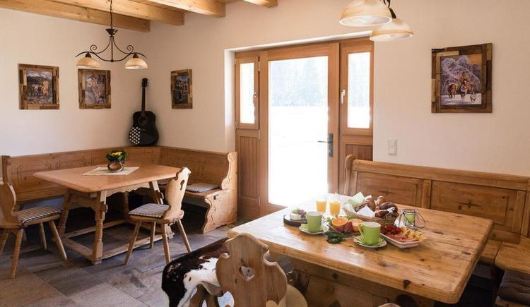 Frühstücksraum (© Elisa Sommer - Big-Sky-Ranch)