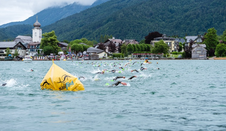 Wolfgangsee Challenge. (© Karl Steinegger)