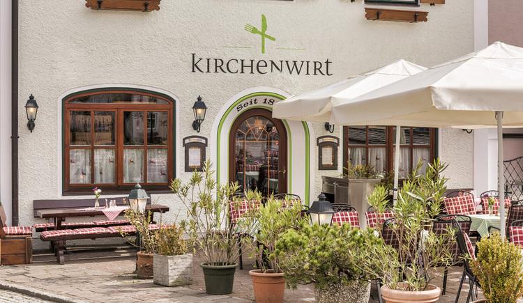Gasthof Kirchenwirt - Herzlich Willkommen. (© Familie Schmeisser)