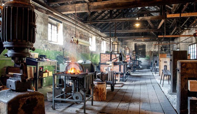 Sensenmuseum Geyerhammer Scharnstein (© Historicum Scharnstein, Foto Monika Löff)