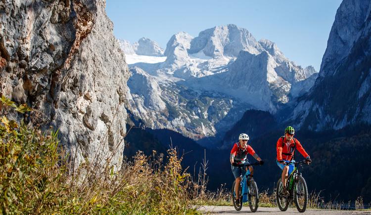 Mountainbike Tour Durchgang Alm Runde mit spektakulärer Aussicht. (© bikeboard.at Erwin Haiden)