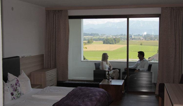 Zimmer im Hotel Blumenhof, Hipping, 4880 Berg im Attergau. (© Hotel Blumenhof)