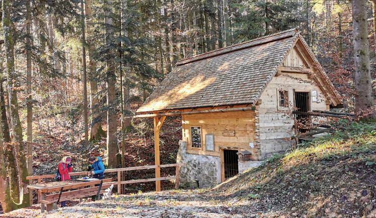 Reiserbauern Mühle in NUßdorf. (© TVB Attersee-Attergau)