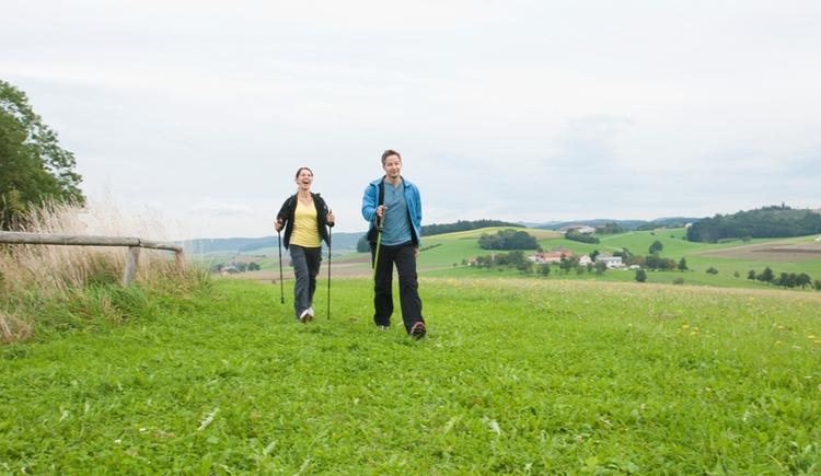 Nordic Walken (© Innviertel Tourismus/Schueler)