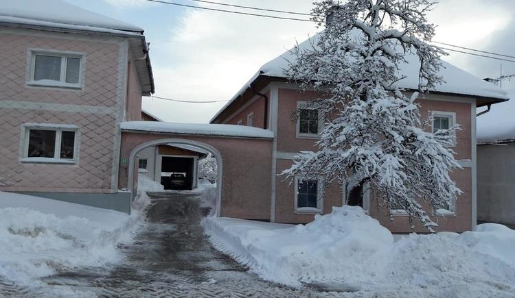 Haus im Winter (© Privat)