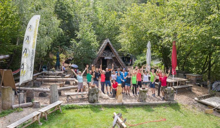 Teamtraining im AbenteuerCamp (© Abenteuer Management - Daniel Hinteramskogler)