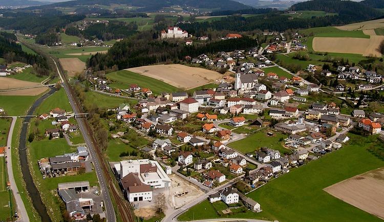 Luftaufnahme Kefermarkt (© Gemeinde Kefermarkt)