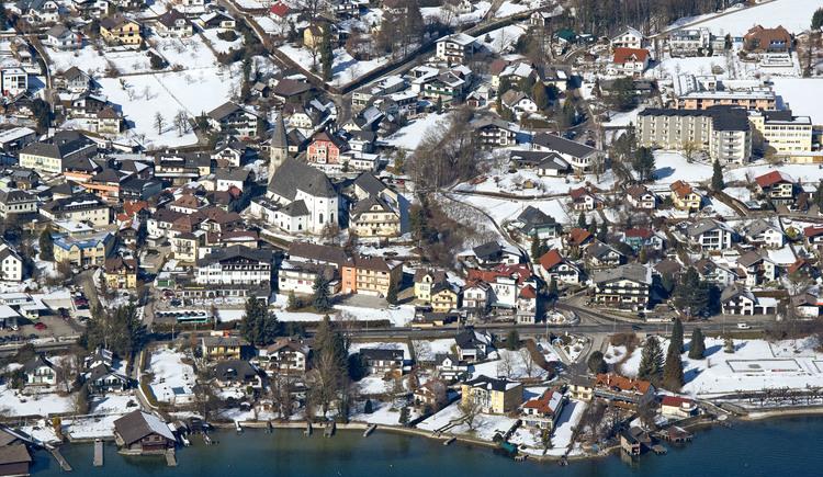 Luftbild Esplanade Winter