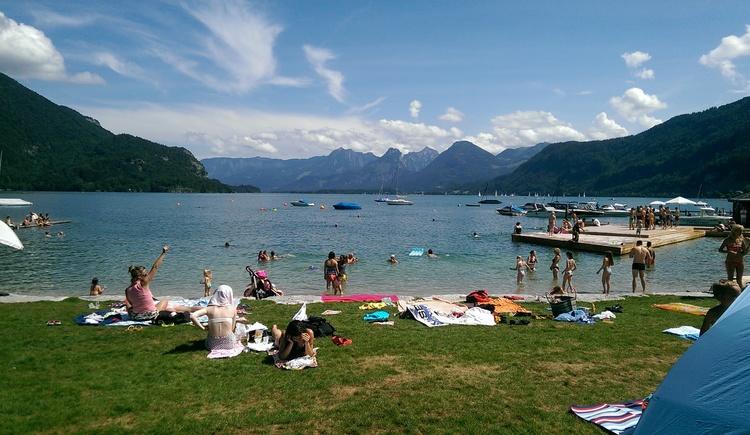 Strandbad St. Gilgen. (© TVB)