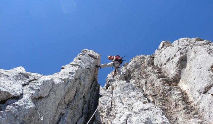 Klettern (© Selbstversorgerhütten Feuerkogel)