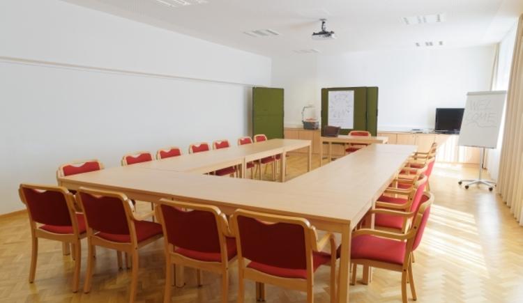 Seminarraum Jugendgästehaus Bad Ischl.