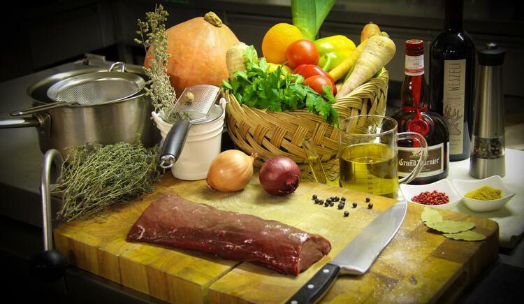 Küche (© Gasthof zum grünen Baum)