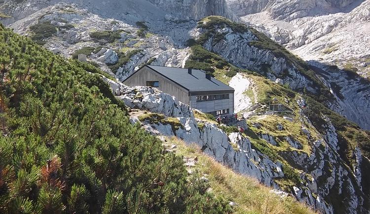 Welser Hütte unterhalb vom Großen Priel, Aufstieg zum Tremlberg oder Schermberg