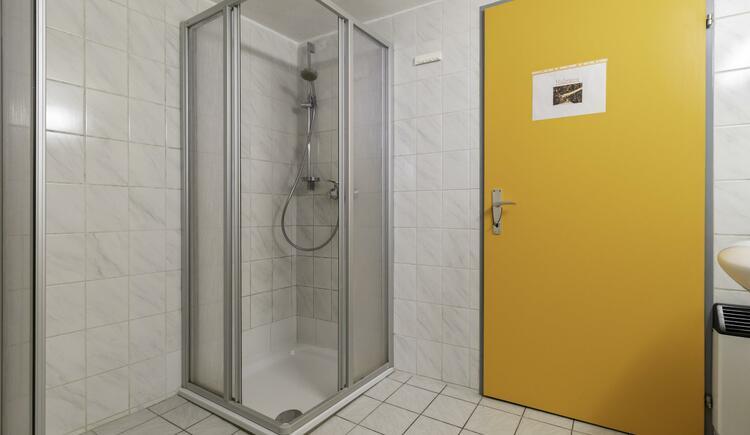 Waschraum- Dusche