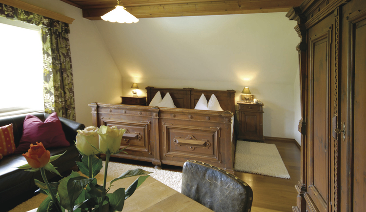 Zimmer im Landhaus Koller. (© Landhaus Koller Gosau)