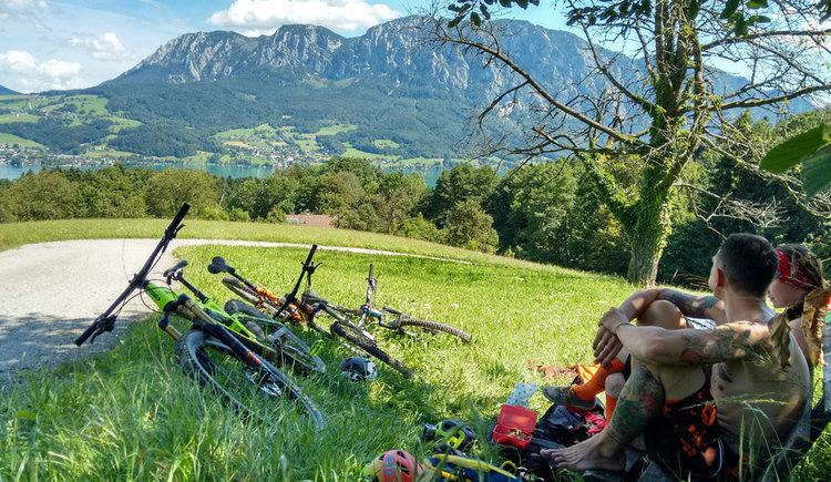 Montainbike Tour Blick auf das Hoellengebirge %c2%a9 Bettina Ratzinger (© Bettina Ratzinger)
