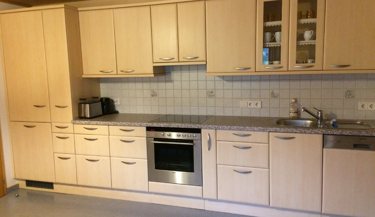 The apartment has \na large fully equipped kitchen.\n