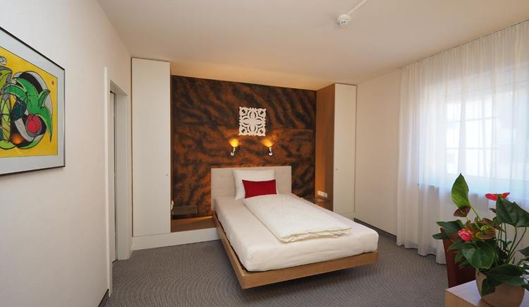 Einzelzimmer (© Hotel Schlair)