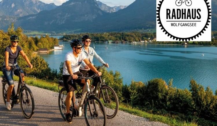 Das Rahdhaus Wolfgangsee ist Husqvarna E-Bike Partner. (© WTG)
