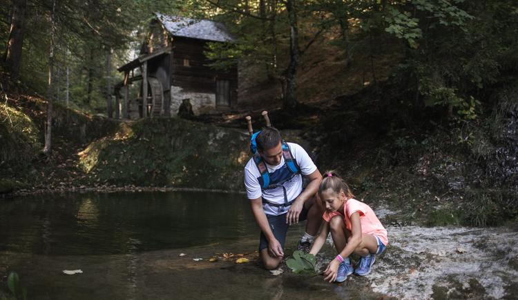 Vater und Tochter Mühle (© (c) Größinger)