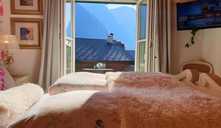 FeWo 2 - Bedroom (© Landhaus Osborne)