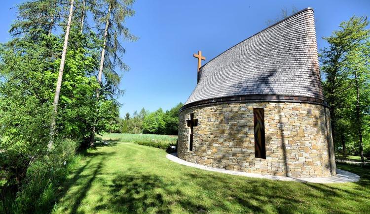 Floriani Kapelle am Eingang ins Almtal Camp