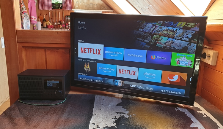 FeWo 3 - SmartTV mit Netflix (© Landhaus Osborne)