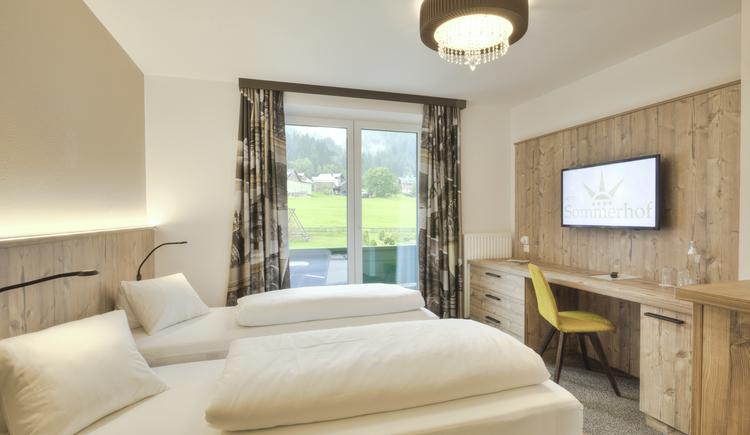 Einzelzimmer Tannenwald - getrennte Betten
