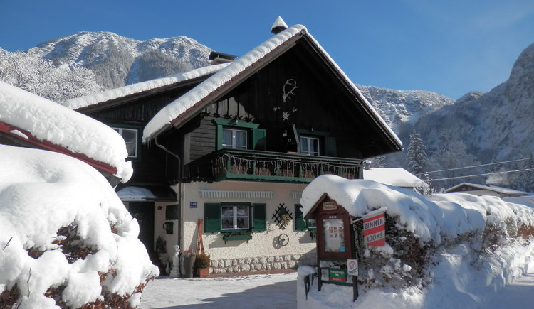 Landhaus Osborne im Winter. (© Landhaus Osborne)