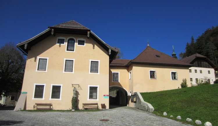 Gemeindeamt Ebenau und Museum Fürstenstöckl. (© TVB Ebenau)